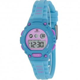 Marea B25156/2 digitaal horloge 34 mm 100 meter turquoise/ roze