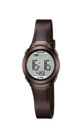 Calypso K5677/6 digitaal horloge 28 mm 100 meter bruin/ bronskleurig
