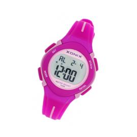 Xonix EN-002 digitaal horloge 32 mm 100 meter roze