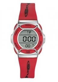 Tekday 653509 digitaal horloge 32 mm 100 meter rood/ grijs