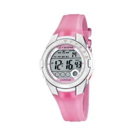 Calypso K5571/2 digitaal horloge 38 mm 100 meter roze