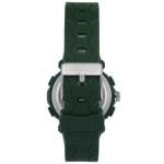 Coolwatch CW.273 analoog/ digitaal horloge 36 mm 50 meter groen/ zilverkleur