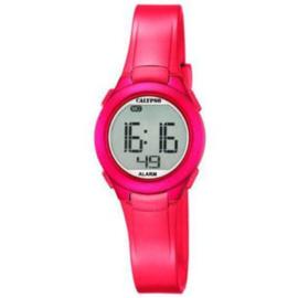 Calypso K5677/4 digitaal horloge 28 mm 100 meter roze