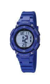 Calypso K5669/6 digitaal horloge 37 mm 100 meter blauw