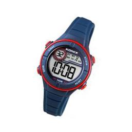 Xonix BAI-006 digitaal horloge 32 mm 100 meter blauw/ rood