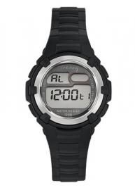 Tekday 653799 digitaal horloge 34 mm 100 meter zwart/ grijs