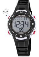 Calypso K5801/6 digitaal horloge 33 mm 100 meter zwart/ rood