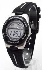 Sinar XE-58-1 digitaal horloge 30 mm 100 meter zwart/ wit