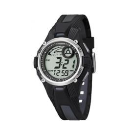 Calypso K5558/6 digitaal horloge 36 mm 100 meter zwart/ grijs