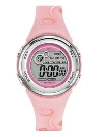 Tekday 653958 digitaal horloge 36 mm 100 meter roze/ grijs