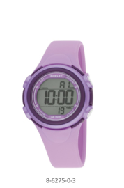 Nowley 8-6275-0-3 digitaal horloge 36 mm 100 meter paars