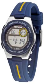 Sinar XE-58-2 digitaal horloge 30 mm 100 meter blauw/ geel