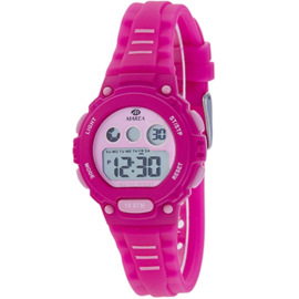 Marea B25156/3 digitaal horloge 34 mm 100 meter roze