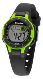 Sinar XE-52-3 digitaal horloge 32 mm 100 meter zwart/ groen