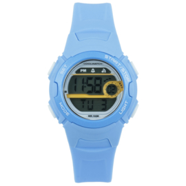Coolwatch CW.345 digitaal horloge 34 mm 100 meter blauw