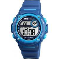 Xonix BAE-002 digitaal horloge 38 mm 100 meter blauw