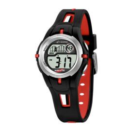 Calypso K5506/1 digitaal horloge 34 mm 100 meter zwart/ rood