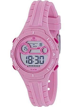 Marea B25155/2 digitaal horloge 34 mm 100 meter roze