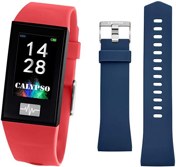 Calypso K8500/4 Smartime Fitness Tracker rood