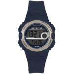 Coolwatch CW.342 digitaal horloge 34 mm 100 meter blauw