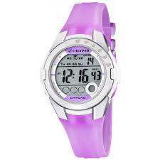 Calypso K5571/3 digitaal horloge 38 mm 100 meter paars