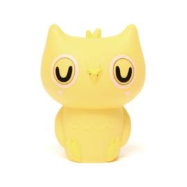 Petit Monkey nachtlampje - Uiltje geel