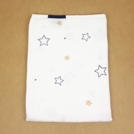 Swaddle doek XXL Sterren -Stars - donkerblauw