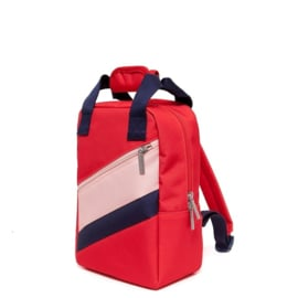 PETIT MONKEY RUGZAK - Poppy Red S
