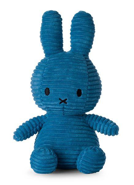 Nijntje/Miffy knuffel corduroy - Aviator Blue