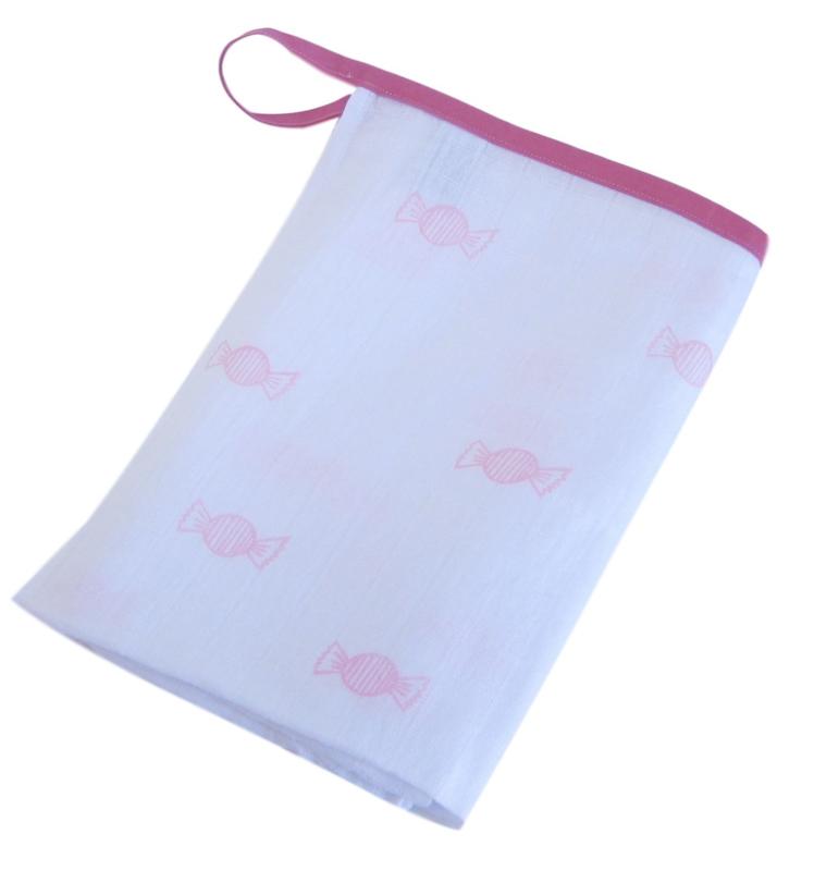 Hydrofiel doek roze snoepjes