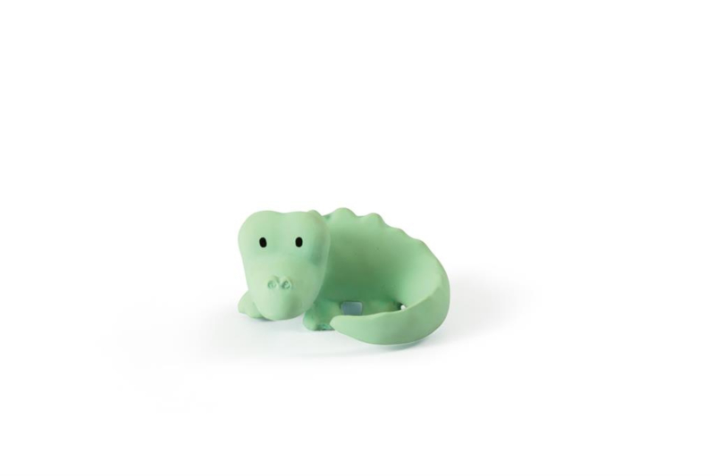 TIKIRI bijtspeeltje en rammelaar - krokodil