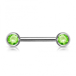 Color Barbell Licht groen