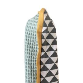 Aankleedkussenhoes Tricky Triangle