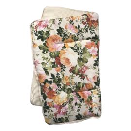 Boxkleed/ speelkleed Ecru Flowers