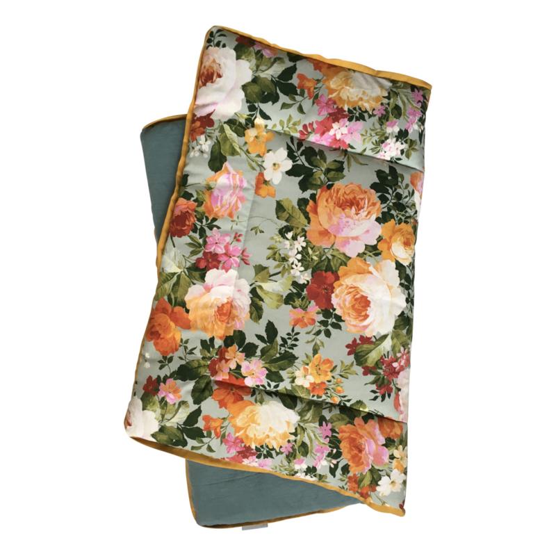 Speelkleed Flowers 140x 140 cm