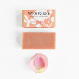 Rozenzeep 100 gram - Werfzeep