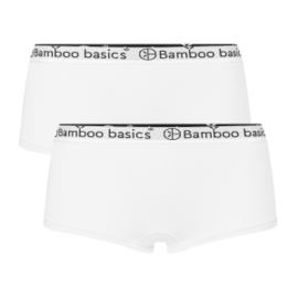 Hipsters Iris (2-pack) - Wit - Bamboo Basics
