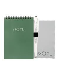 Ringband A6 notitieboekje - Go Green - uitwisbaar papier - MOYU