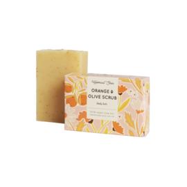 Orange & Olive scrubzeep - HelemaalShea