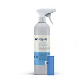 Aluminium sprayfles Allesreiniger - incl 1 pod- Ecopods