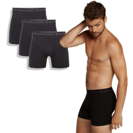 Boxershorts Rico (3-pack) - Black - Bamboo Basics