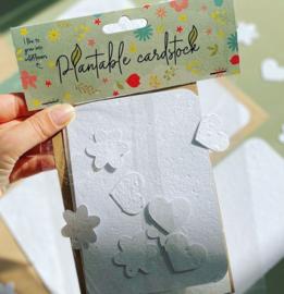 Blanco kaarten - 4 stuks - BLOOM  your message
