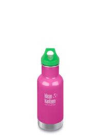 Thermosfles RVS 355 ml fuchsia - Klean Kanteen