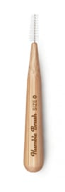 Interdentale ragers bamboe 6 stuks - 0,4 mm - Humble Brush