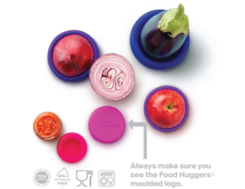 Food Huggers Bright Berry set van 5