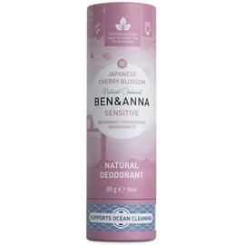Deodorant Stick - SENSITIVE  -Cherry Blossom - 60 gram   - Ben & Anna