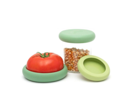 Food Huggers Big  - set van 3 - groen -zero plastic
