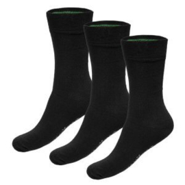 Sokken Beau 41-46 (3-pack) – Zwart