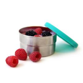 Lekdicht snack bakje RVS 220 ml - Blue Bento