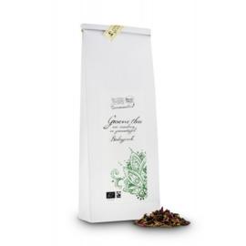 Groene thee met Cranberry en Granaatappel  bio 100 gram  (composteerbare verpakking) - Peeze
